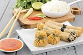 image of lumpia  - Oriental Snacks  - JPG