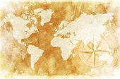 picture of continents  - Old - JPG