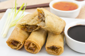 picture of lumpia  - Spring Rolls  - JPG