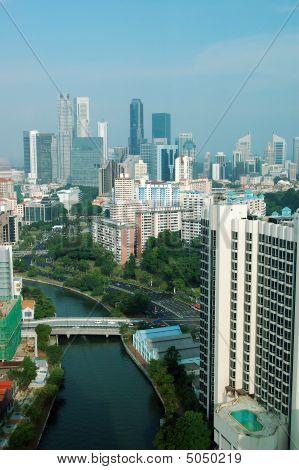 Singapore City View