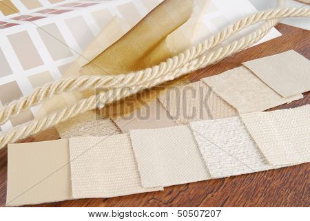 color  upholstery choice for interior