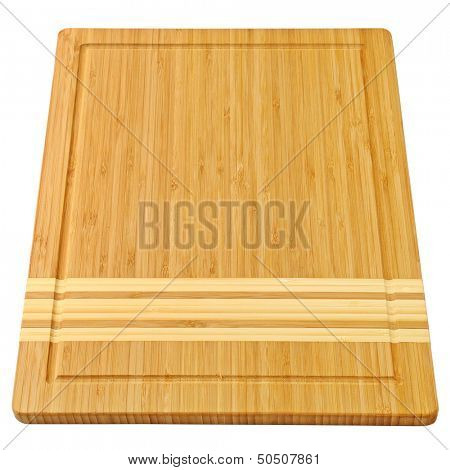 breadboard isolated on a white background
