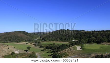 Pleneuf Val Andre golf course at the Blue Green Golf Challenge 2013