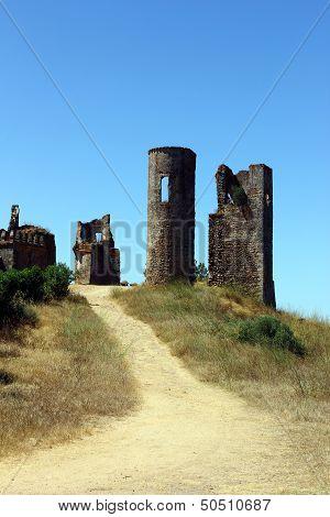Montemor O Novo Castle, Alentejo, Portugal