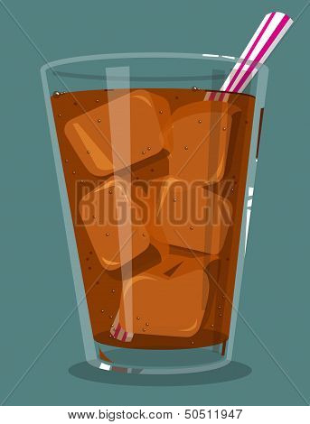 Glass of soda