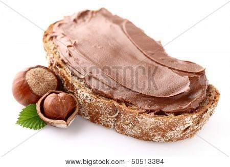 Nutty chocolate cream