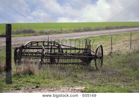 Old Field Plow