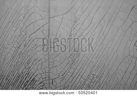 Cracked Plastic Film Background
