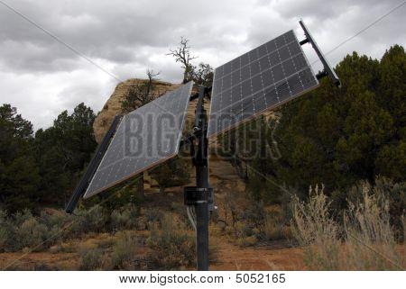 Solar Power In The Desert