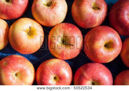 many apples