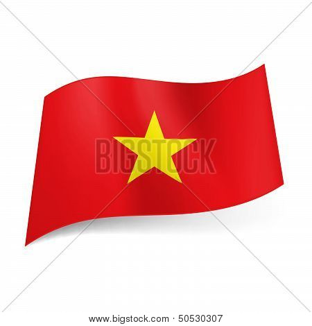 State flag of Vietnam.