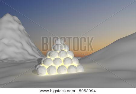 Snowy Montain Light