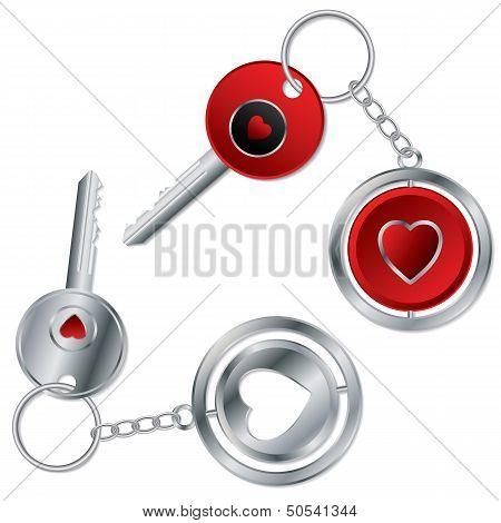 Valentine Keyholder Design