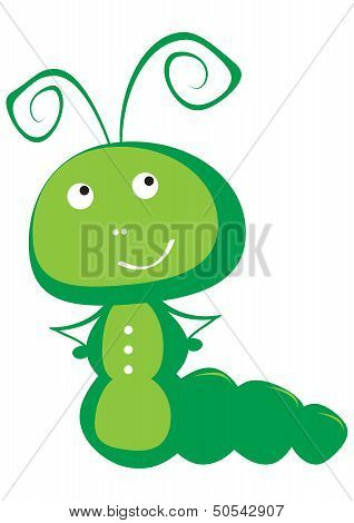 Caterpillar vector illustration
