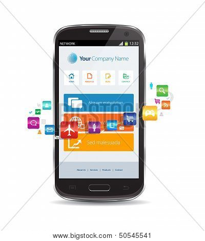 Internet Cloud Smartphone Apps