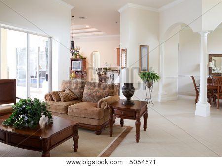 Interior moderna