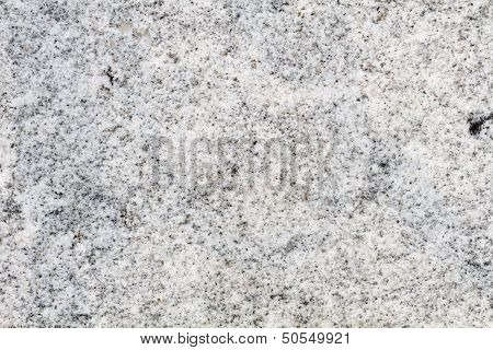 White Granite Structure On A Worked Stone