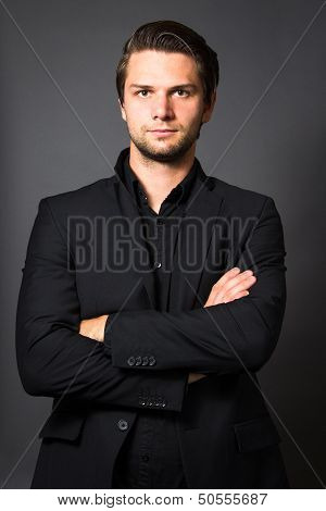 Man In Black Suit