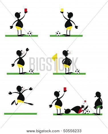 Funny Soccer Referee
