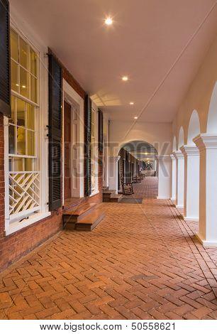 Student Houses And Walkway Uva