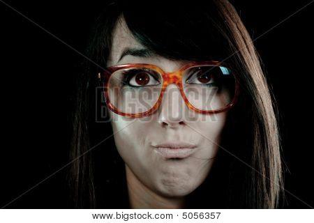 Nerdy - Geek Face