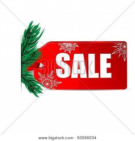 Seasonal Christmas Sale.