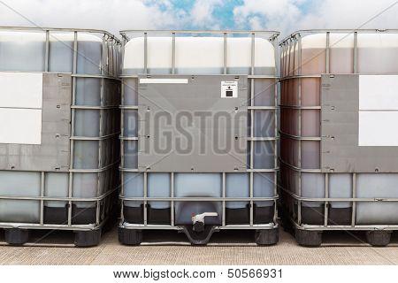 Bulk Oil Container