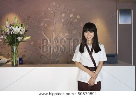 Health Spa Receptionist