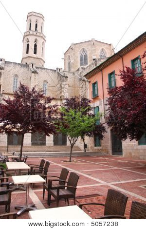 Cathedral In Figueres, Spain