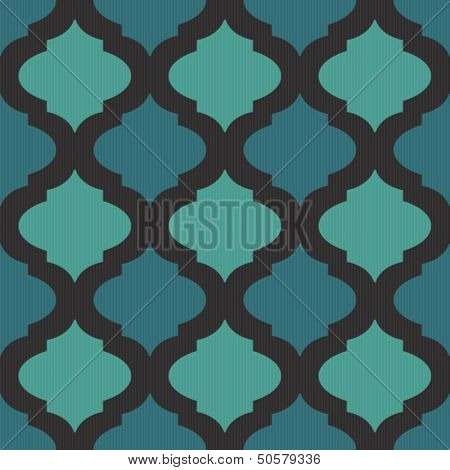 Seamless mosaic pattern in arab style for web or decor