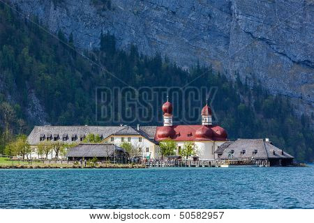 St. Bartholomew's Church, Berchtesgaden, Bavaria, Germany