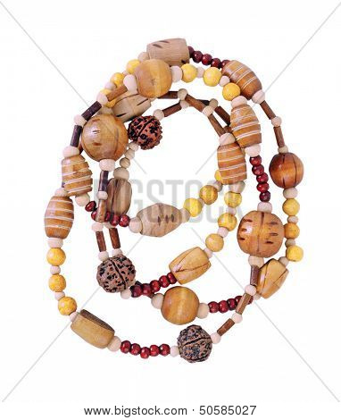 yellow beads