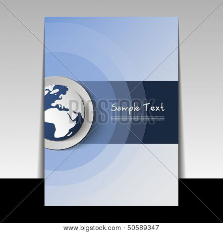 Flyer or Cover Design | Business Vector Illustration