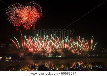 firework over westlake