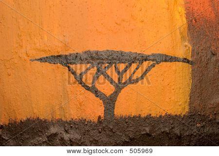 Árbol de Acacia africana