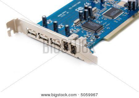Blue Usb Hub