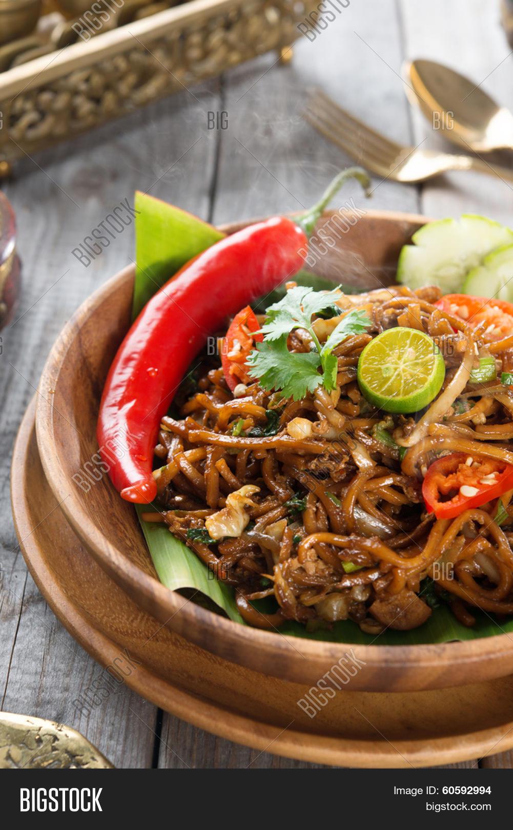 Indonesian Table Setting Mee Goreng Mamak Or Mi Goreng Indonesian And Malaysian Cuisine