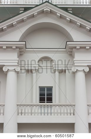 Triangular Pediment