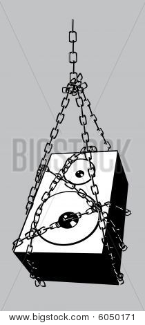 chained speaker