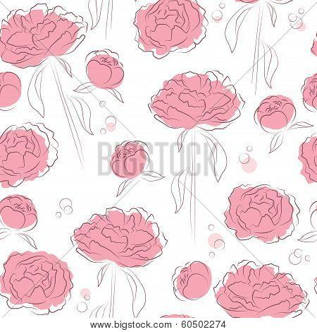 Elegance flowers background