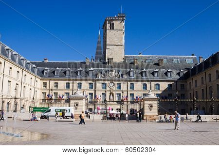 The Burgundy Dukes Palace In Dijon, France