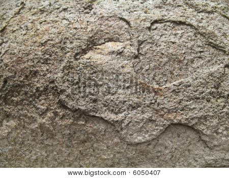 Brown Texture of the Flat Stone