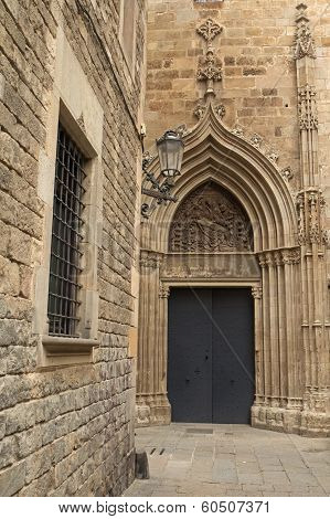 Gothic Barcelona (catalunya, Spain)