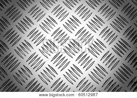 Background of metal with repetitive patten