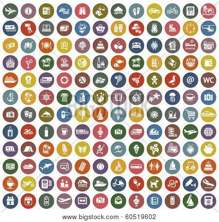 144 icons retro color