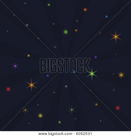 Explosion Of Stars And Planets
