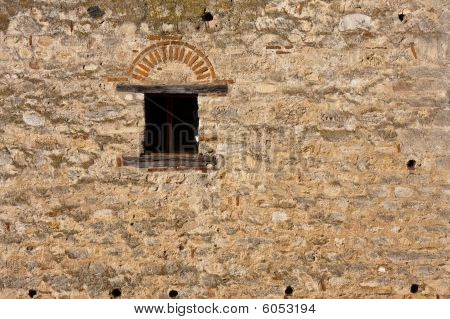 Ventana de castillo medieval