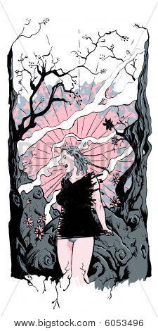 Fantasy Comic Poster
