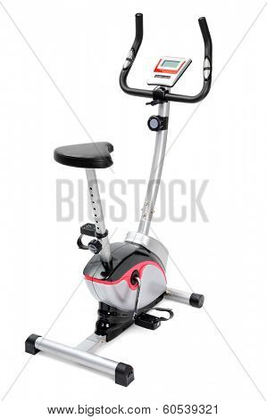 gym equipment, machine or inddor bike for cardio workouts