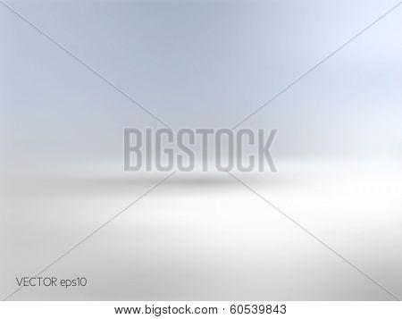 Soft blue background horizon